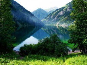 Kolsay Lakes and Lake Kaindy