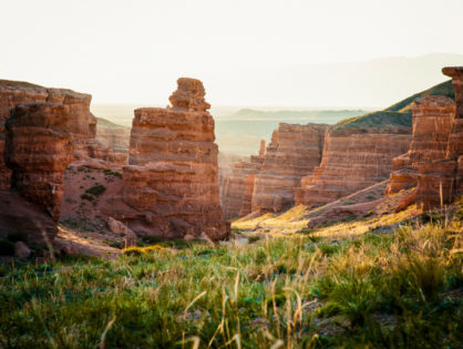 The Charyn Canyon