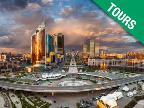 Nur-Sultan – glitter of capital