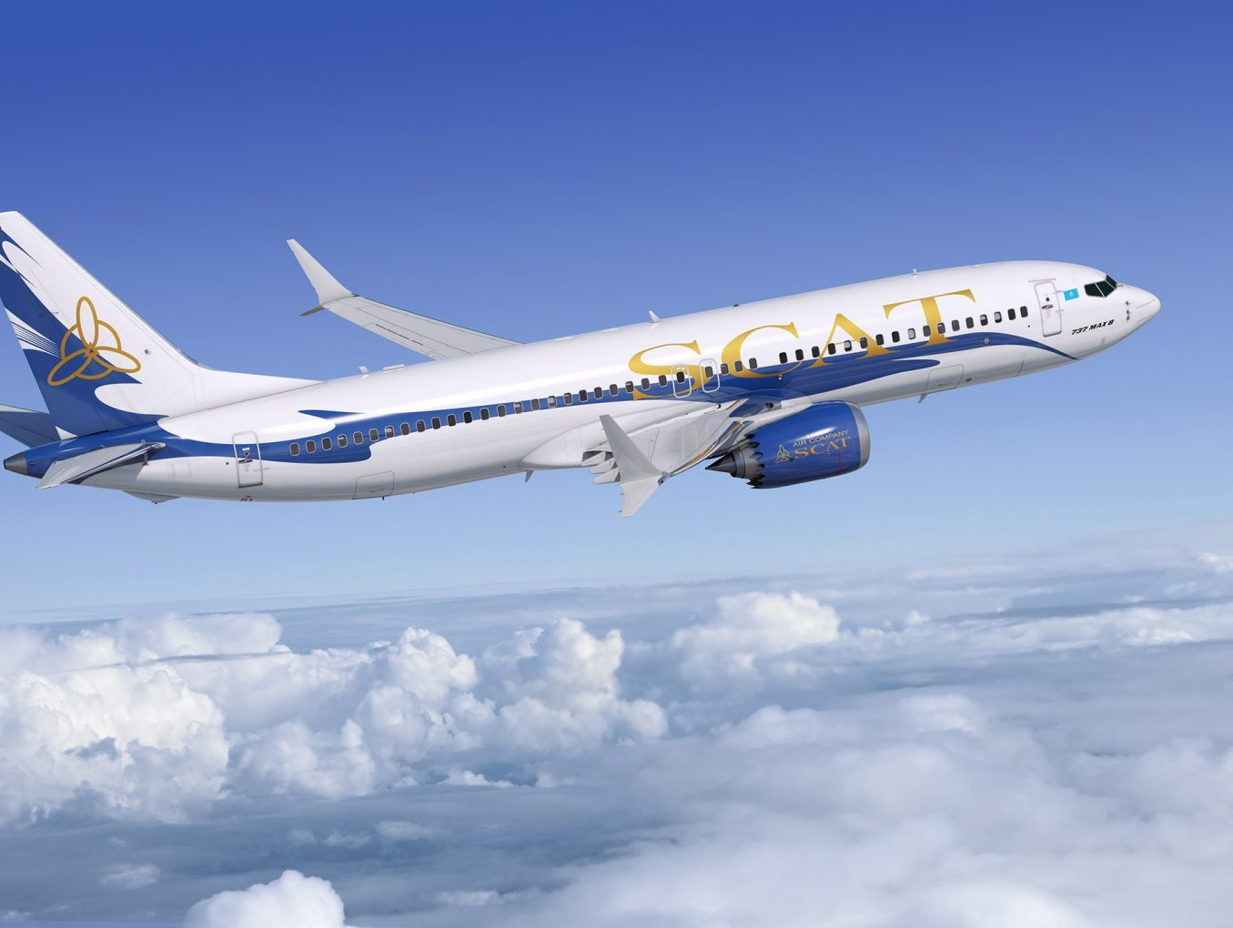 Introducing new flight operated by SCAT airlines: Astana  - Chelyabinsk