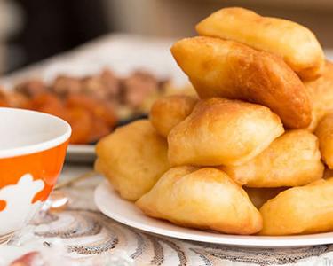 Рецепт казахского национального блюда Баурсаки