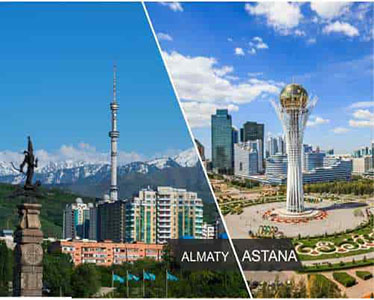 Astana and Almaty hit the top 10 best cities for autumn travel in the CIS