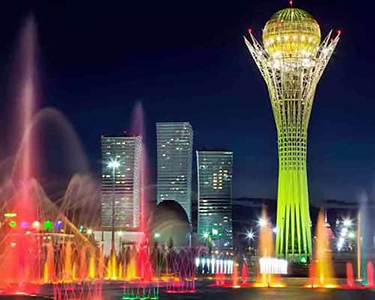 Astana was included to the top 5 most romantic cities in the CIS