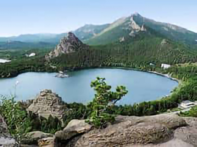 Borovoe topped the ranking of the best resorts in the CIS for summer holidays