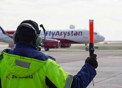Low-cost airline Fly Arystan by Air Astana