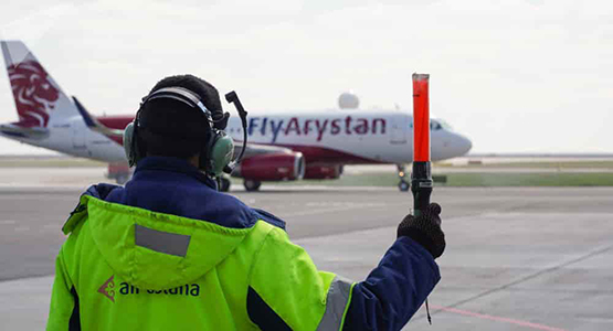 Лоукостер Fly Arystan by Air Astana